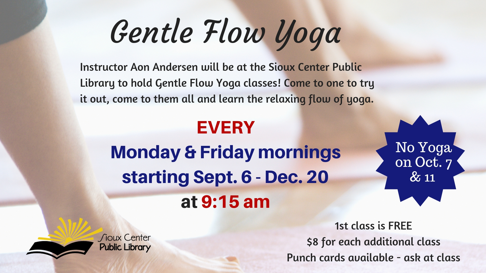 Gentle Flow Yoga