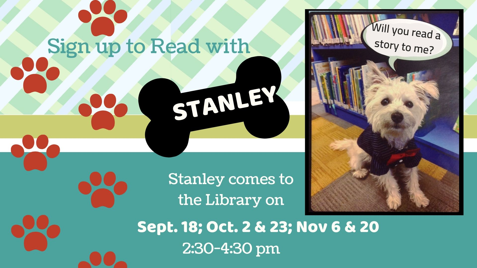 Read with Stanley Fall 2019