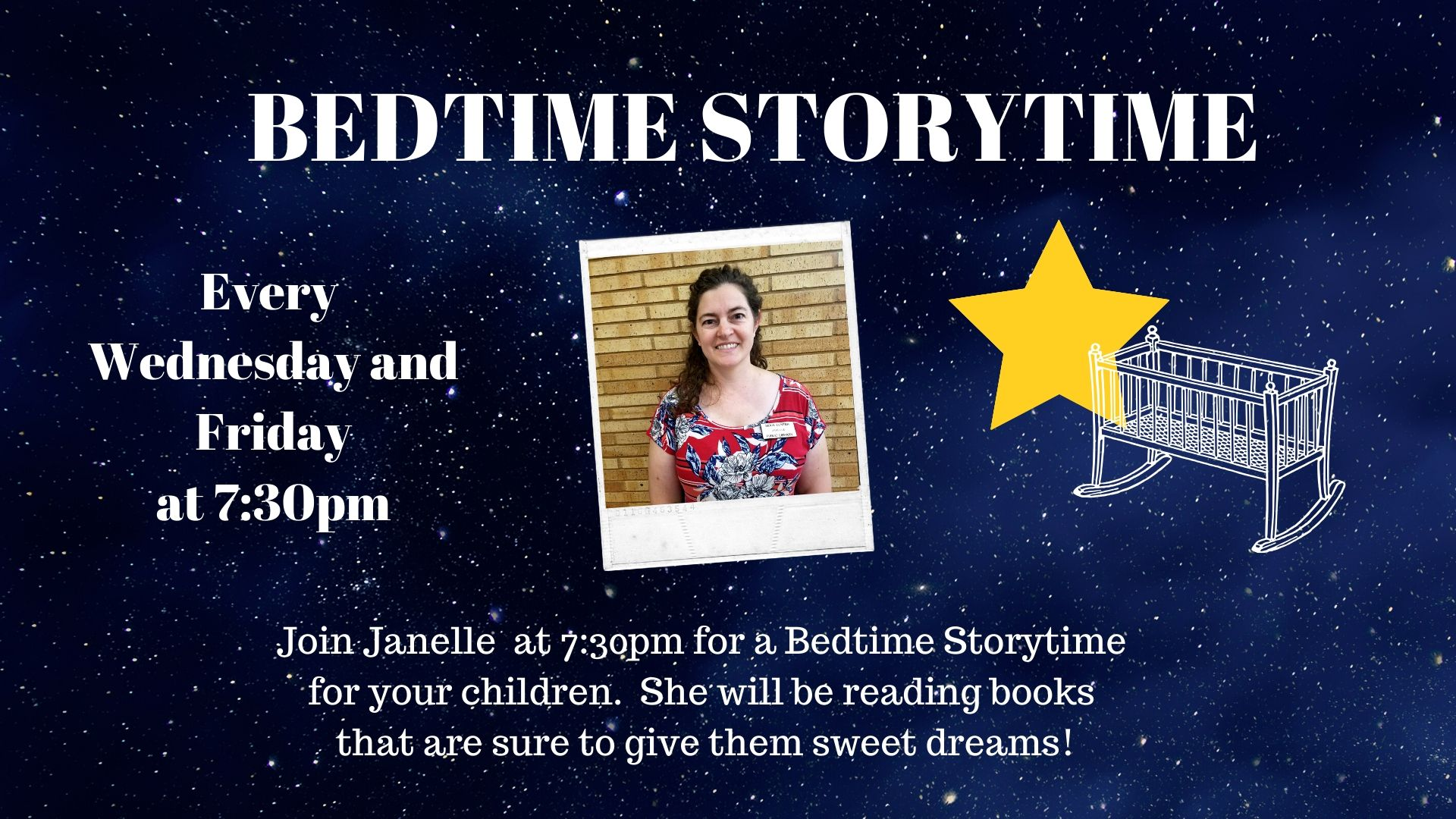 Bedtime storytime with Janelle