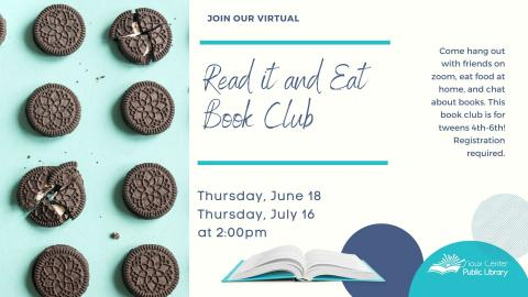 Read It and Eat Book Club
