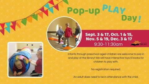 Pop Up Play Day